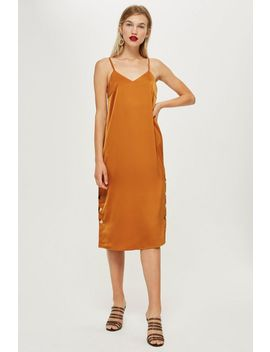Button Slip Dress By Yas by Topshop
