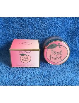 Too Faced Peach Perfect Mattifying Loose Setting Powder   Melb Seller by Too Faced