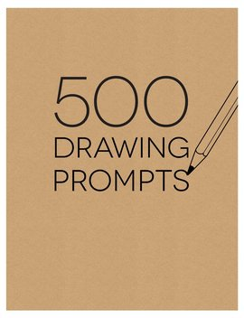 Piccadilly Sketchbook, 500 Drawing Prompts Notebook by Piccadilly
