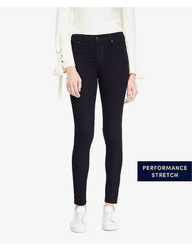 All Day Denim Jeggings In Deep Tide Wash by Ann Taylor