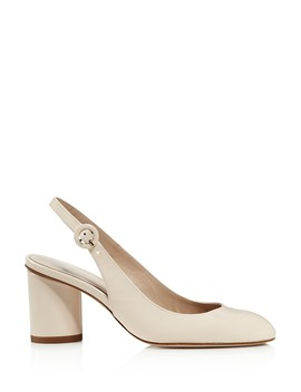 Women's Coretta Patent Leather Slingback Pumps by Stuart Weitzman