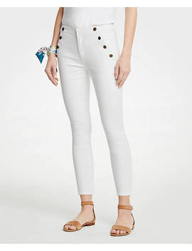 Sailor Skinny Crop Jeans by Ann Taylor