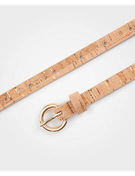 Skinny Cork Belt by Ann Taylor