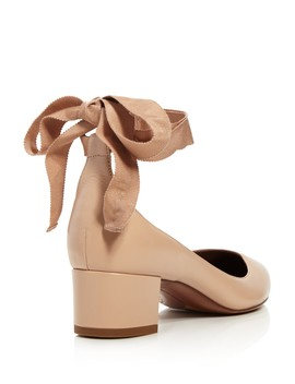 Women's Chloe Ankle Wrap Block Heel Pumps by Tabitha Simmons