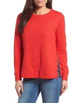 Side Snap Sweatshirt by Gibson