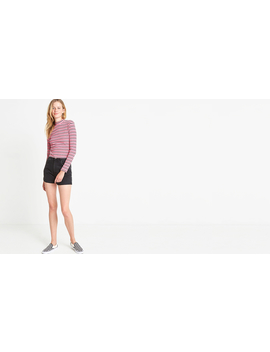 Pink Stripe Funnel Neck Top by Nobody's Child