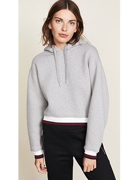 Dense Cardigan With Striped Trim by T By Alexander Wang