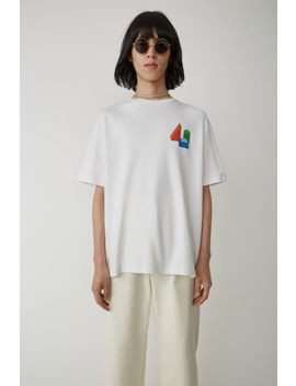 Building Blocks Shirt Optic White by Acne Studios