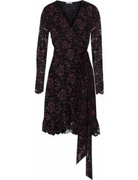 Flynn Lace Wrap Dress by Ganni