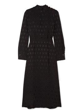Printed Jacquard Midi Dress by Cefinn