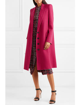 Wool And Cashmere Blend Coat by Alexander Mc Queen