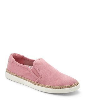 Rae Canvas Slip On Sneakers by Generic