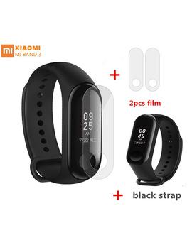 2018 Xiaomi Mi Band 3 Smart Wristband Bluetooth Bracelet Smart Fitness Tracker 50 M Waterproof Miband 3 Watch With Strap English by Xiaomi