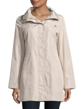 Lightweight Full Zip Raincoat by Dorothy Perkins