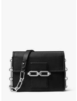 Cate Medium Calf Leather Shoulder Bag by Michael Kors Collection