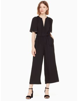 Flutter Sleeve Jumpsuit by Kate Spade