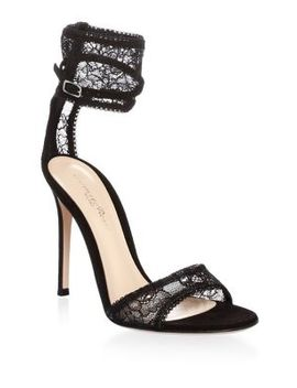 Ankle Cuff Leather Sandals by Gianvito Rossi