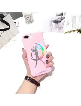 Fashion Laser Sailor Moon Soft Phone Case Back Cover For Iphone X/6/6 S/7/8 Plus by Unbranded/Generic