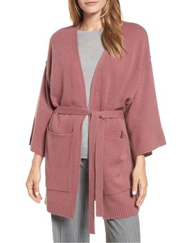 Belted Cashmere Kimono by Halogen®