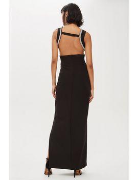 Cutout Trim Maxi Dress by Topshop