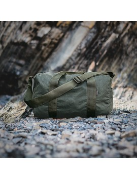 Small Tin Cloth Field Duffle Bag by Filson
