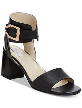 Avani Block Heel Sandals, Created For Macy's by Cole Haan