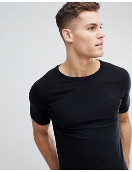 Next Muscle Fit T Shirt In Black by Next