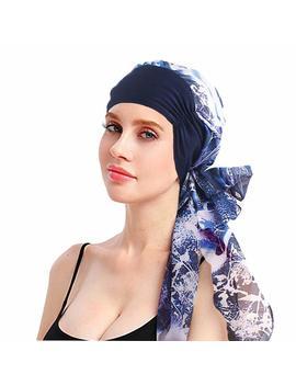 Einskey Head Scarf For Women, Summer Thin Head Wrap Turban Hat Ladies Head Cover Bandana Cap Headwear (More Style) by Amazon