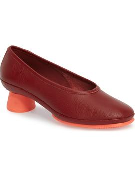 Alright Cone Heel Pump by Camper