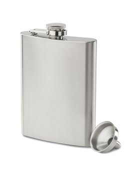 Future Hydrate 304 (18/8) Stainless Steel Leak Proof Liquor Hip Flask With Funnel And Gift Box, 8 Oz by Future Hydrate