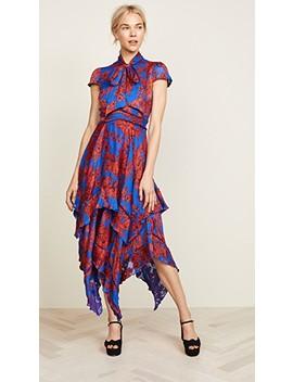 Ilia Ruffle Dress by Alice + Olivia