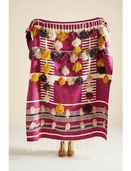 Woven Janet Throw Blanket by Anthropologie