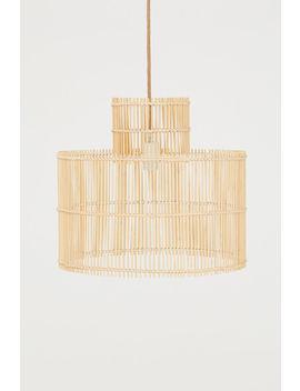 Deckenleuchte Aus Bambus by H&M