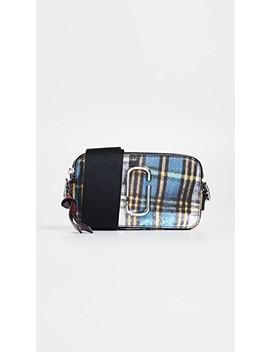 Snapshot Tartan Camera Bag by Marc Jacobs