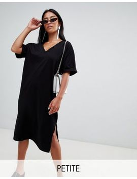 Boohoo Petite Oversized Midi T Shirt Dress by Boohoo