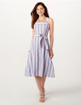 Jones Studio® Striped Dress by Dressbarn