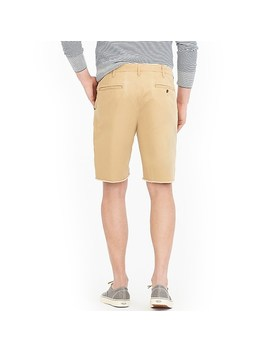 "9"" Distressed Officer's Short by J.Crew"