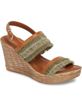 By Easy Street® Zaira Wedge Espadrille Sandal by Tuscany