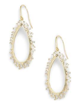 Emily Open Drop Earrings by Melinda Maria