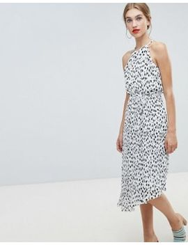 Warehouse Polka Dot Dress by Warehouse