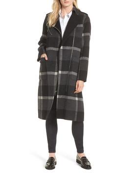 Double Face Wool Blend Oversize Coat by Michael Michael Kors