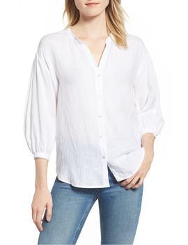 Linen Shirt by Velvet By Graham & Spencer