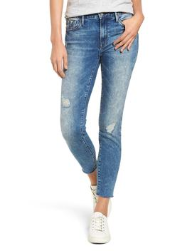 Mavi Tess Distressed Raw Edge Jeans by Mavi Jeans