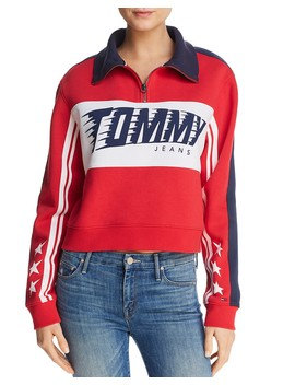Racing Logo Sweatshirt  by Tommy Jeans
