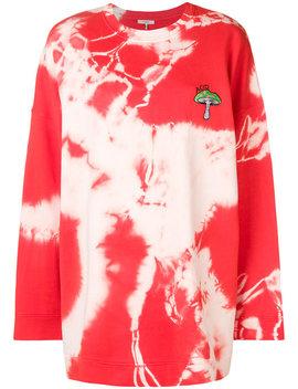Mushroom Oversized Sweatshirt by Ganni