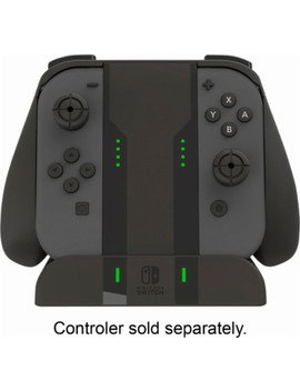 Pro Joy Con Charging Grip For Nintendo Switch   Black by Nintendo