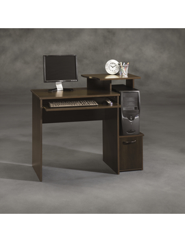 Sauder Beginnings Cinnamon Cherry Computer Desk Sauder Beginnings Cinnamon Cherry Computer Desk by Kmart