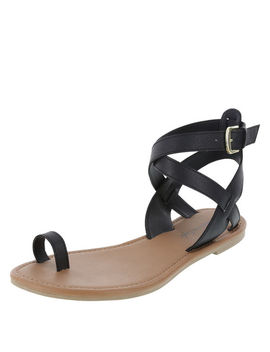 Women's Ursula Toe Loop Flat Sandal by Learn About The Brand American Eagle