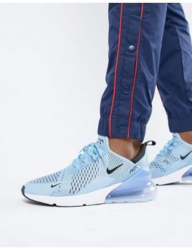 Nike Air Max 270 Trainers In Blue Ah8050 402 by Nike