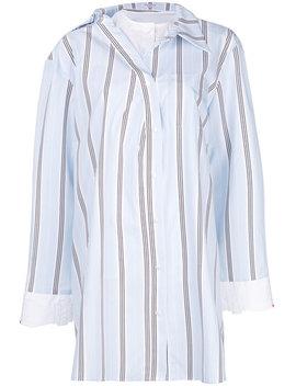 Oversized Striped Shirt by Vivetta
